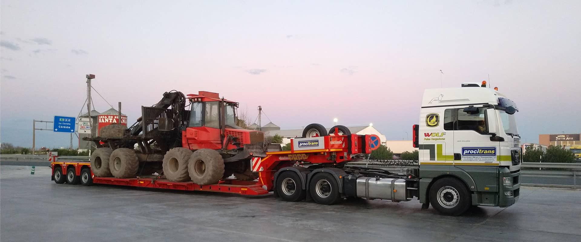 transporte agricola españa